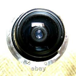 Leica 21mm f/3.4 Super-Angulon M-Mount Lens, Chrome, Leitz Wetzlar, Germany