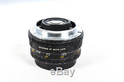 Leica 28mm F/2.8 Elmarit 3 Cam R Mount Lens 48