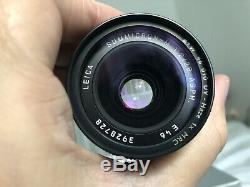 Leica 28mm Summicron ASPH f2 M Mount. Superb