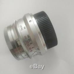 Leica 35mm F/2.8 Summaron L39 LTM Scew mount Lens Minty & Fully Serviced
