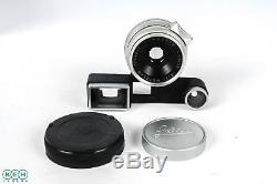 Leica 35mm F/2.8 Summaron RF Chrome Wetzlar M Mount Lens 39