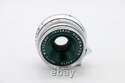 Leica 35mm Summaron f2.8 screw mount lens GERMANY NO RESERVE