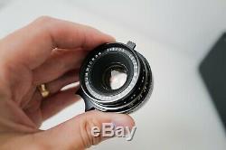 Leica 35mm Summicron f/2 Lens (LEICA M MOUNT GERMAN VERSION 1970)