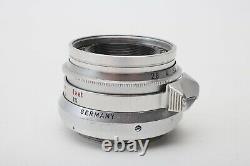 Leica 35mm f2.8 Summaron Screw Mount LTM M39 Lens+Sony FE Adapter+Youxin Ye CLA