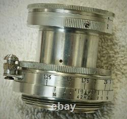 Leica 50MM F2 Summitar screw mount Len for parts