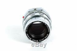 Leica 50mm (5CM) F/2 DR Summicron M Mount Lens 39