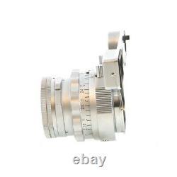 Leica 50mm (5CM) F/2 DR Summicron M-Mount Lens 39 UG