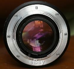 Leica 50mm F/1.4 SUMMILUX-R E55 3-Cam Lens Nikon F Mount
