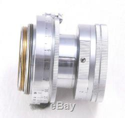 Leica 50mm F/2 Collapsable Summicron in Screw Mount Exc++