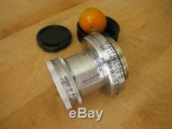Leica 50mm Summar f/2 Lens in Leica Screw Mount 5cm Summar Good User