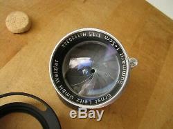 Leica 50mm Summarit f/1.5 Lens in Leica Screw Mount EXC