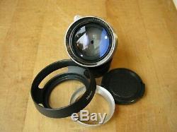 Leica 50mm Summitar f/2 Lens in Leica Screw Mount Nice Glass
