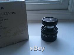 Leica 50mm f/2.8 Elmar M collapsible M mount lens excellent condition