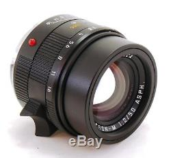 Leica 50mm f/2 Apo Summicron M ASPH 6-bit coded lens M mount boxed MINT