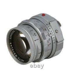 Leica 50mm f/2 Summicron Rigid DR (Dual Range) M Mount Lens, Chrome 39 UG