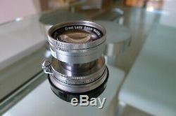 Leica 50mm f/2 Summicron lens in Leica M mount. Superb Example