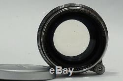 Leica 5cm 50mm Summitar 12 Lens, Germany, fits L39 screw LTM mount camera