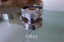 Leica 5cm Summicron 50mm f2 Lens for Leica cameras (includes an M mount)