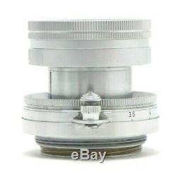 Leica 5cm f2 Summicron Collapsible M39 Screw Mount Lens #30451
