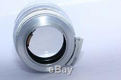 Leica 8.5cm (85mm) f1.5 Summarex FAST Telephoto lens in M39 Leica screw mount