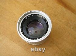 Leica 90mm Elmar f/4 Lens in Leica M Mount