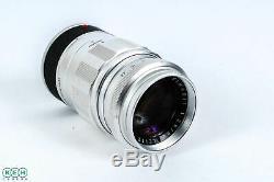 Leica 90mm F/2.8 Elmarit Chrome M Mount Lens 39