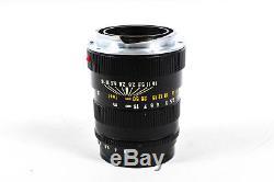 Leica 90mm F/2.8 Tele-Elmarit Black M Mount Lens 39