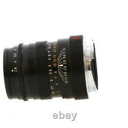 Leica 90mm F/2.8 Tele-Elmarit Black M Mount Lens 39, Made in Canada UG