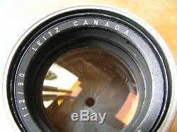 Leica 90mm Summicron f/2 Lens in Leica M Mount User