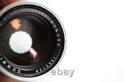Leica 90mm f/2 Summicron (for visoflex) lens M-mount