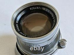 Leica Collapsible Summicron 50mm f2 LTM M39 Screw Mount PERFECT GLASS