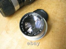 Leica E. Leitz N. Y. Wollensak 127mm Velostigmat II f/4.5 Lens Leica Screw Mount
