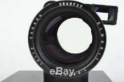 Leica Elmarit 135mm f/2.8 M-Mount Leitz Canada Telephoto Lens +Viewfinder #E9737