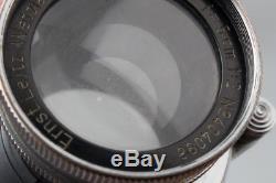 Leica Ernst Leitz Wetzlar Summar 5cm 50mm f/2 Lens for LTM L39 M39 Screw Mount
