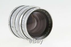 Leica Ernst Leitz Wetzlar Summarit 50mm 5cm f/1.5 M39 Screw Mount Vintage Lens