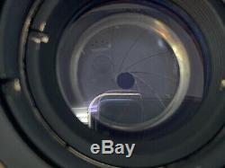 Leica Ernst Leitz Wetzlar Summaron 35mm 3.5cm f/3.5 M39 Screw Mount Vintage Lens