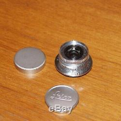 Leica Ernst Leitz Wetzlar Summaron 3.5cm 35mm f/3.5 Lens M39 LTM Mount 1958