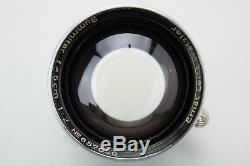 Leica Ernst Leitz Wetzlar Summitar 5cm 50mm f/2 Lens for LTM L39 M39 Screw Mount