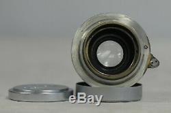 Leica Hektor Nickel 50cm F2.5 Screw Mount Lens with Cap