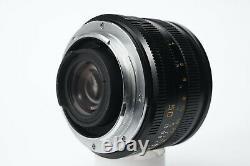 Leica Leitcz Summicron R 50mm f2 Canada EXC+ Leica R mount with built in hood BOX