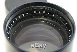 Leica Leitz 180mm F2.8 Elmarit-R telephoto R-Mount 3 CAM Lens. Made in Germany