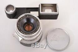 Leica Leitz 35mm f2.8 Summaron M Mount Rangefinder Lens with Goggles