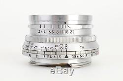 Leica Leitz 3.5cm 35mm F3.5 Summaron E39 M Mount Lens for M3
