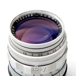 Leica Leitz 50mm f1.4 Summilux Lens M Mount Pristine Mint Condition