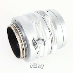 Leica Leitz 5cm (50mm) f/1.5 Summarit Screw Mount LTM L39 Lens EX+++