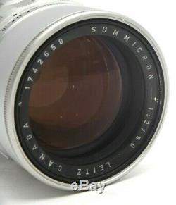Leica Leitz Canada 90mm f2 Summicron M39 Screw mount Rangefinder Lens #30563