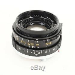 Leica Leitz Canada Summicron-M 35mm f2 E39 v2 M Mount Lens EX+++
