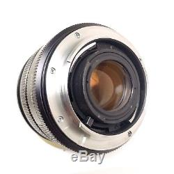Leica Leitz Canada Summicron R 50mm f/2 R-Mount Lens