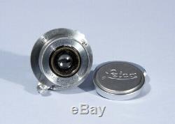 Leica Leitz Elmar 3.5cm 35mm f/3.5 Prime Lens Screw Mount L39 39mm