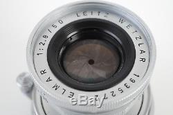 Leica Leitz Elmar M 50mm f/2.8 Lens M Mount MINT